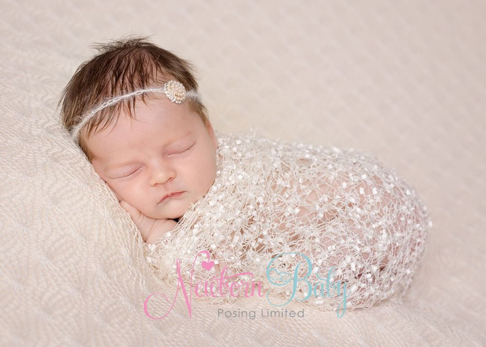 Lacey Wrap Layer Newborn Baby Posing Limited